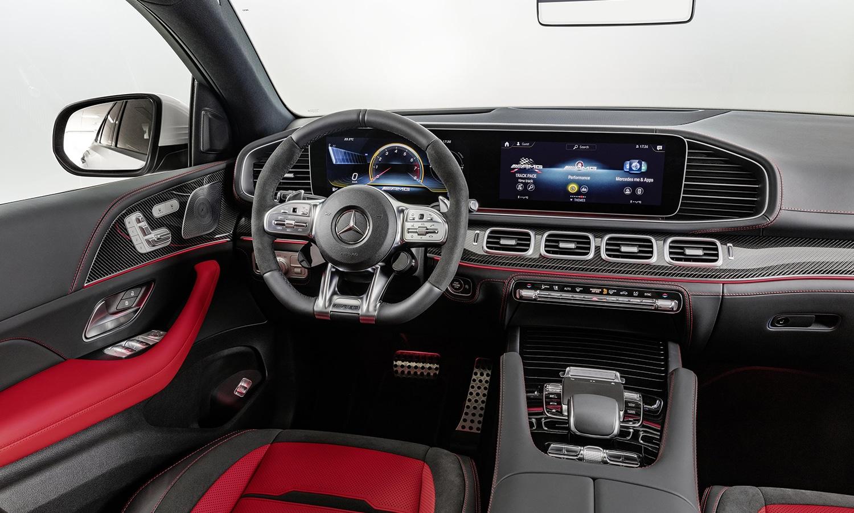Mercedes GLE Coupé interior