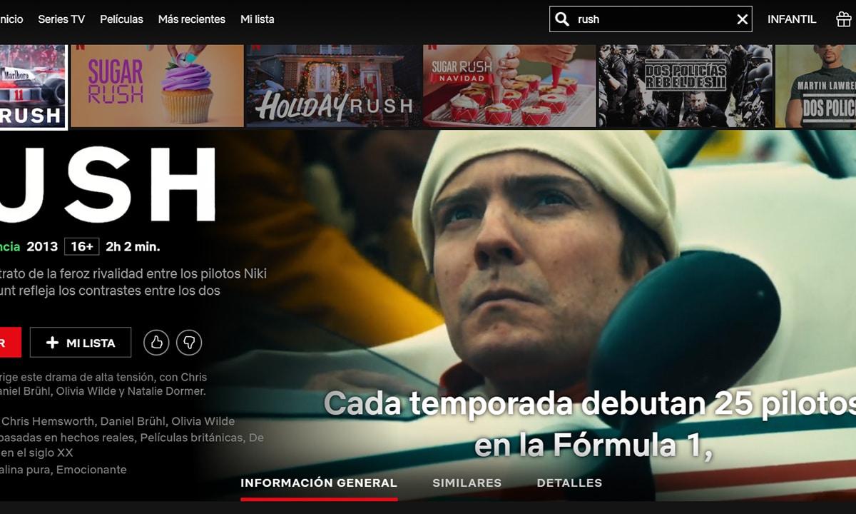 Películas de coches Netflix