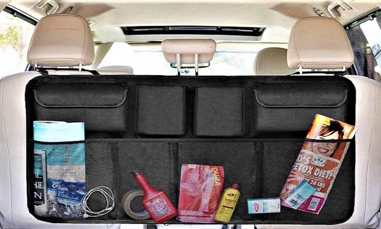 Organizador de maletero para los respaldos de los asientos traseros