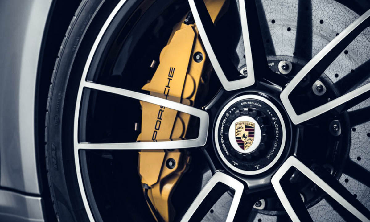 Frenos cerámica del nuevo 911 Turbo S
