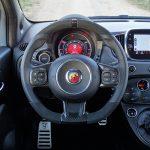 Puesto conducción Abarth 595