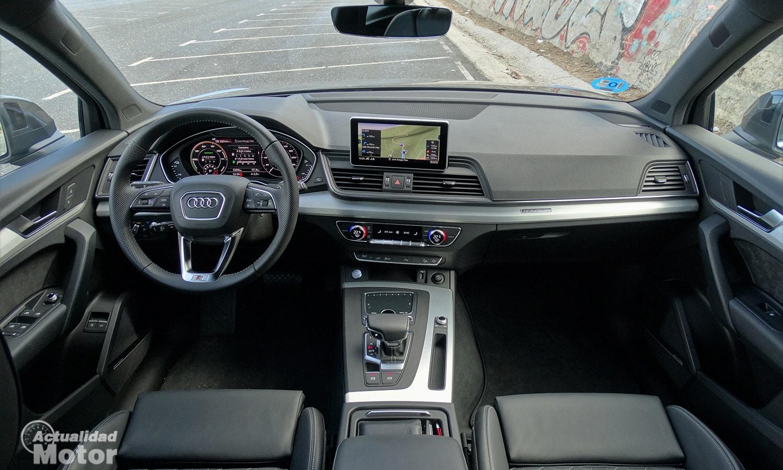 Diseño interior del Audi Q5