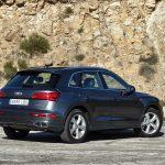 Prueba Audi Q5 55 TFSIe híbrido enchufable parte trasera