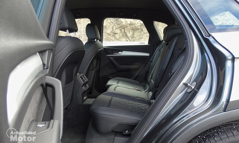 Espacio plazas traseras Audi Q5