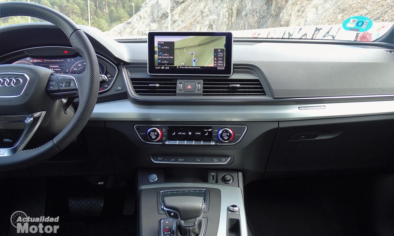 Prueba Audi Q5 PHEV consola central
