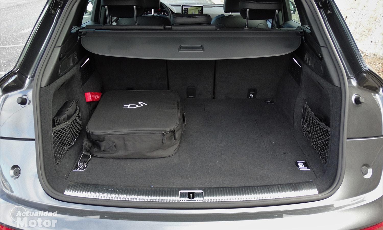 Maletero del Audi Q5 55 TFSIe 367 CV