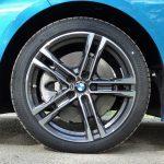 Prueba BMW Serie 2 GC llantas