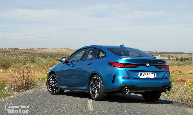 Prueba BMW Serie 2 Gran Coupé trasera