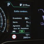 Hyundai Kona Eléctrico cuadro instrumentos