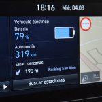 Hyundai Kona Eléctrico pantalla