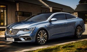 Renault Talisman Coupé recreación