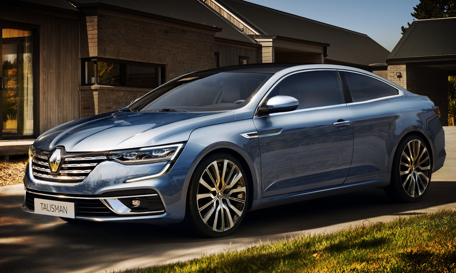 Renault Talisman Coupé recreación