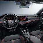 Interior del Skoda Octavia RS 2020
