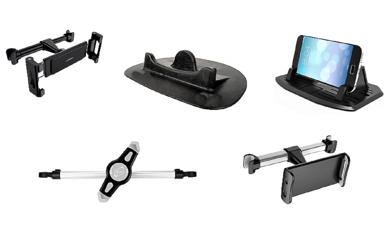 Soportes para móviles y tablets para el coche como regalo