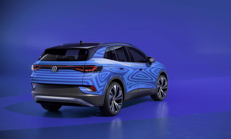 Parte trasera del Volkswagen ID.4