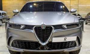 Alfa Romeo Tonale front spy photo