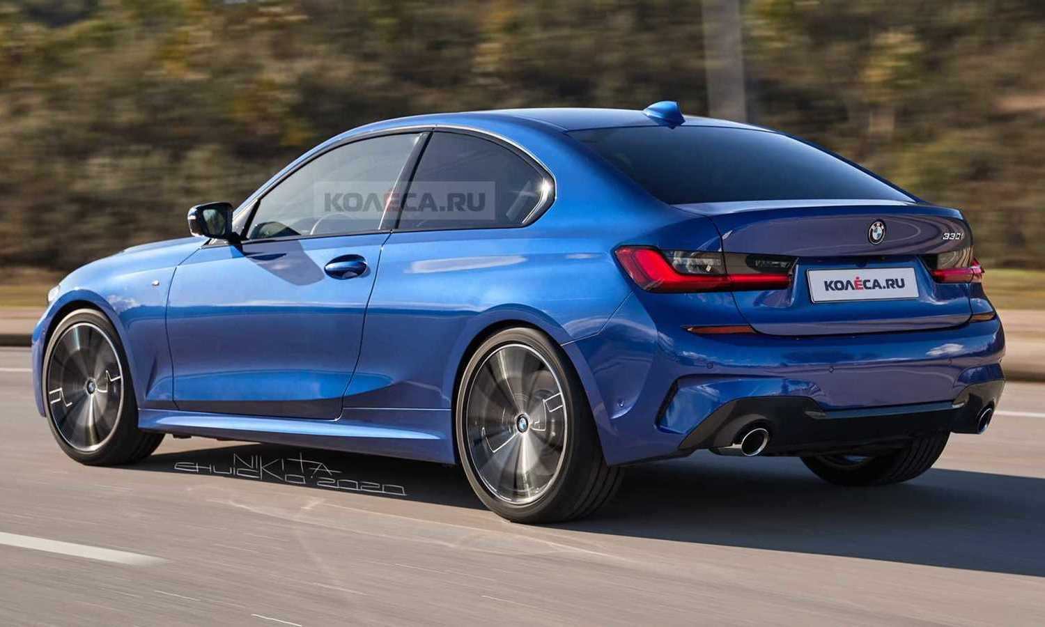 BMW Serie 3 Compact rear rendering