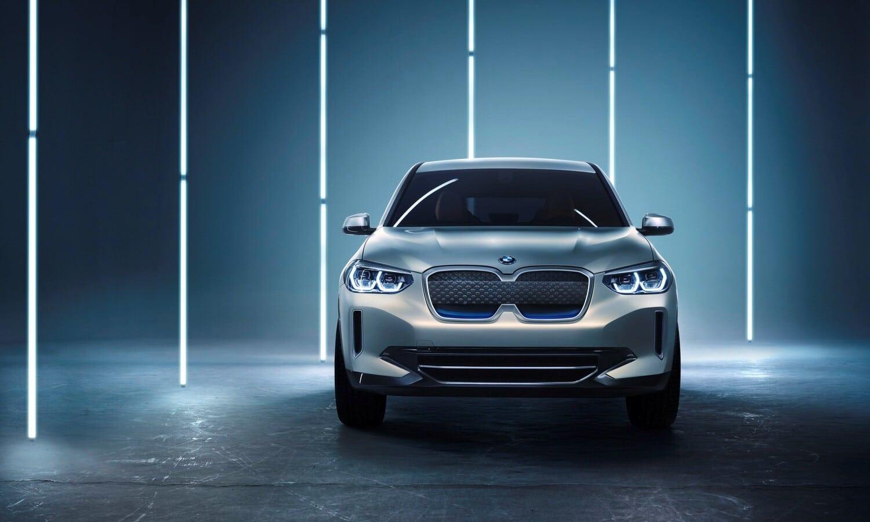 BMW iX3 Concept front