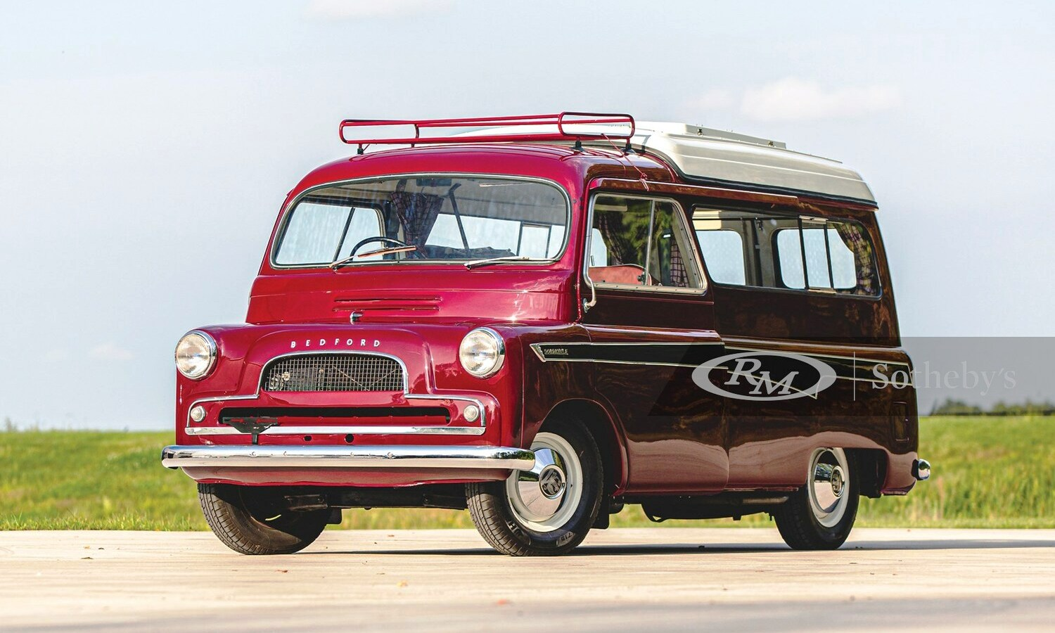 Bedford Dormobile 1961 auction on RM Sotheby's front