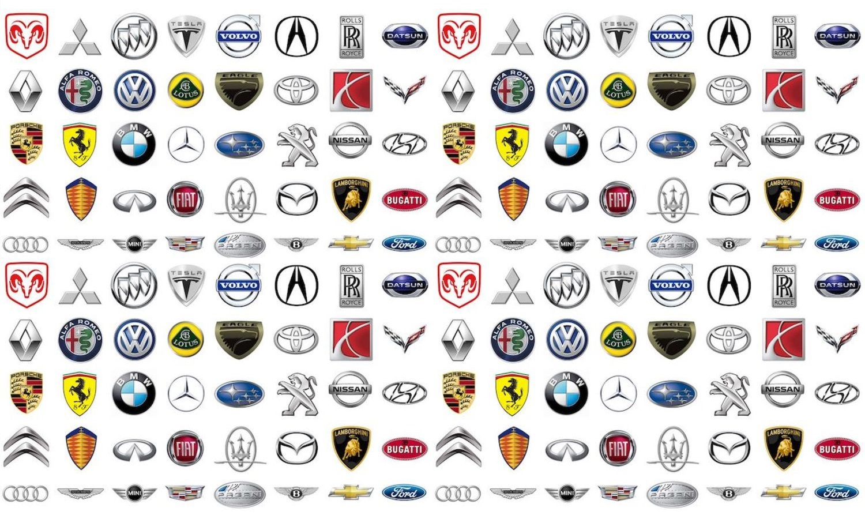 Colaboración entre marcas - Logos marcas de coches del mundo