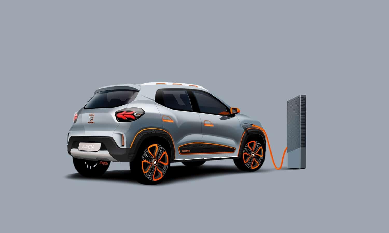 Dacia Spring 2020 show car
