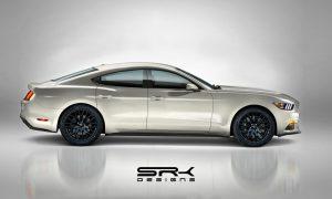 Ford Mustang Sedán render by SRK Designs