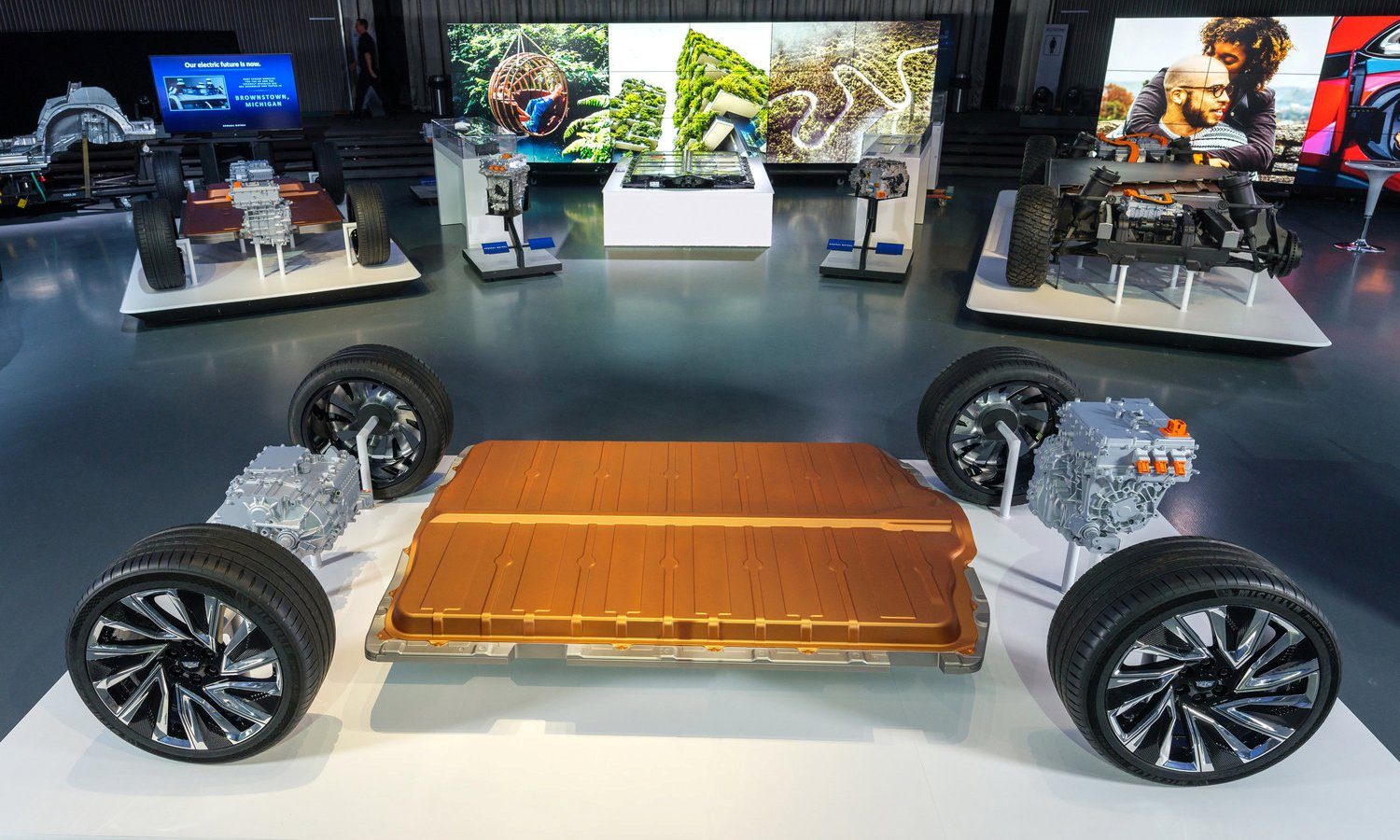 General Motors new modular platform and battery system Ultium