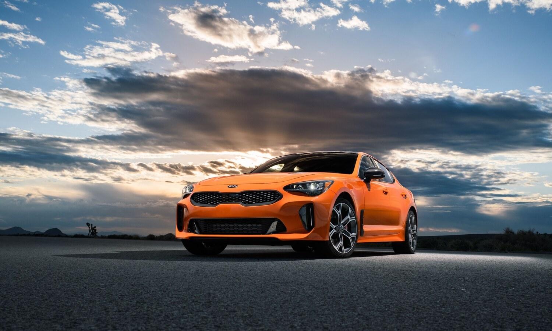 Kia Stinger GTS front