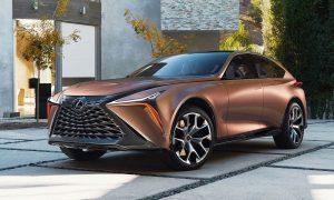 Lexus LF-1 Limitless Concept 2018 front