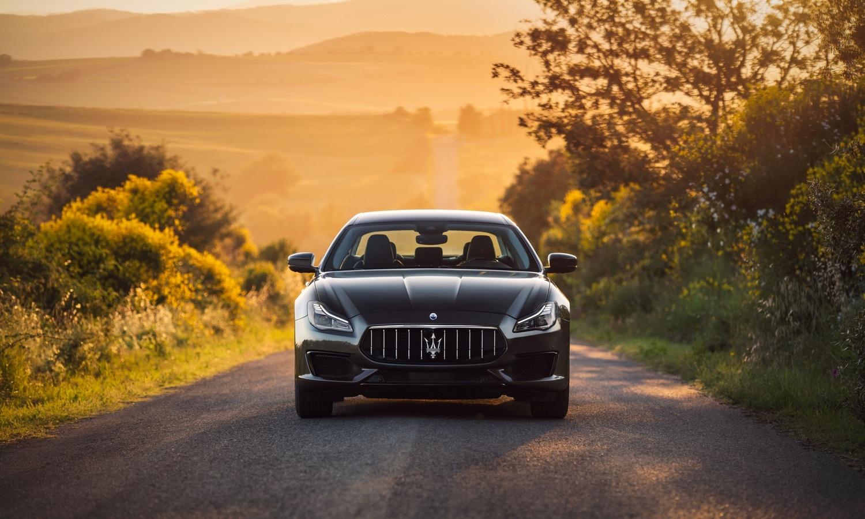 Maserati Quattroporte front