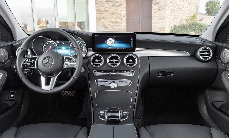 Mercedes-Benz Clase C inside