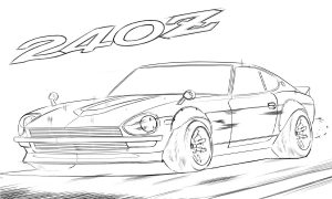Nissan 240Z - Nissan Fairlady
