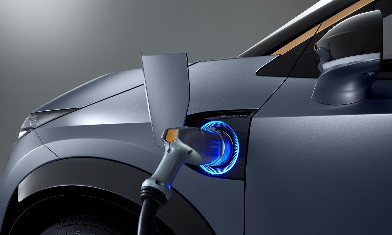 Nissan Ariya Concept 2019 charge