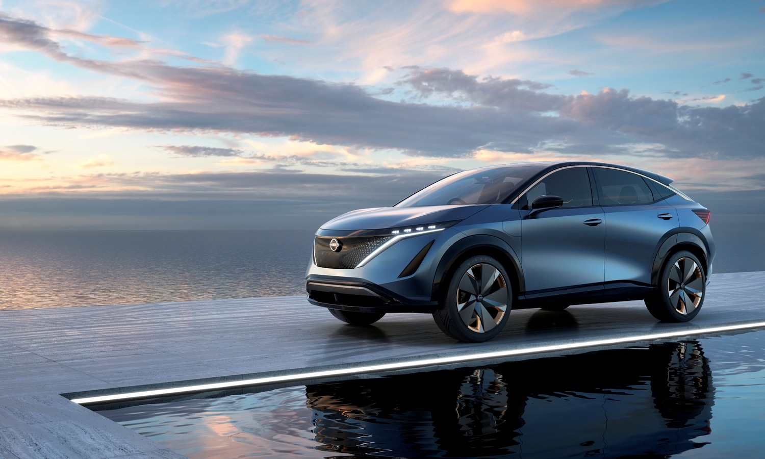 Nissan Ariya Concept 2019 front-side