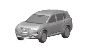 Nissan Rogue patent - Nissan X-Trail patent