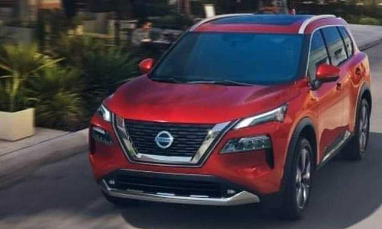 Nissan X-Trail filtración front - Nissan Rogue filtración front
