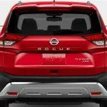 Nissan X-Trail filtración rear - Nissan Rogue filtración rear