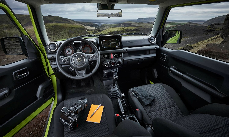 Suzuki Jimny inside