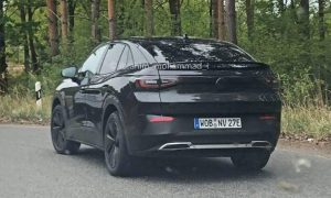 Volkswagen ID.4 Coupé rear spy photo