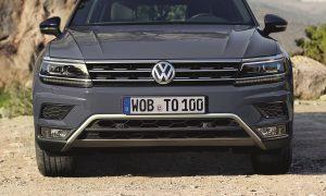 Volkswagen Tiguan Off-Road front