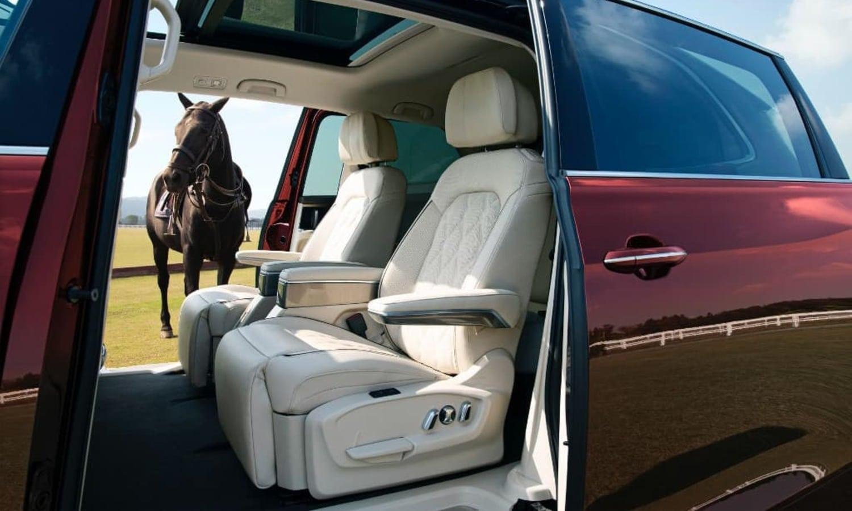 Volkswagen Viloran seats-horse