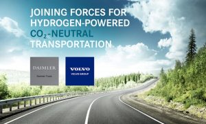 Volvo Group Truck - Daimler AG Truck joint venture to hidrogen engine