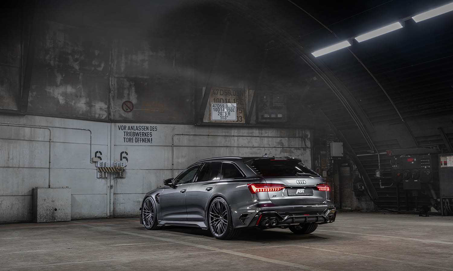 ABT RS6-R trasera