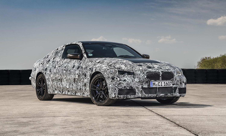 BMW Serie 4 Coupé parte delantera camuflada