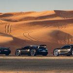 Bugatti EB110, Bugatti Veyron y Bugatti Chiron