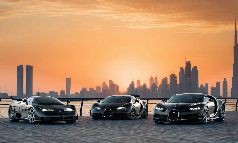 Bugatti Dubái