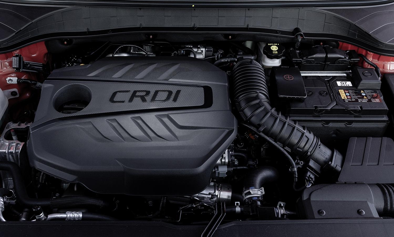 Hyundai Kona motor CRDi
