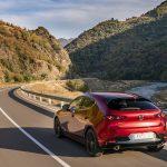 Mazda3 5 puertas parte trasera