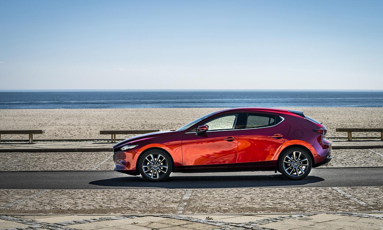 Mazda3 5 puertas lateral