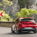 Mazda3 5 puertas dinámica trasera